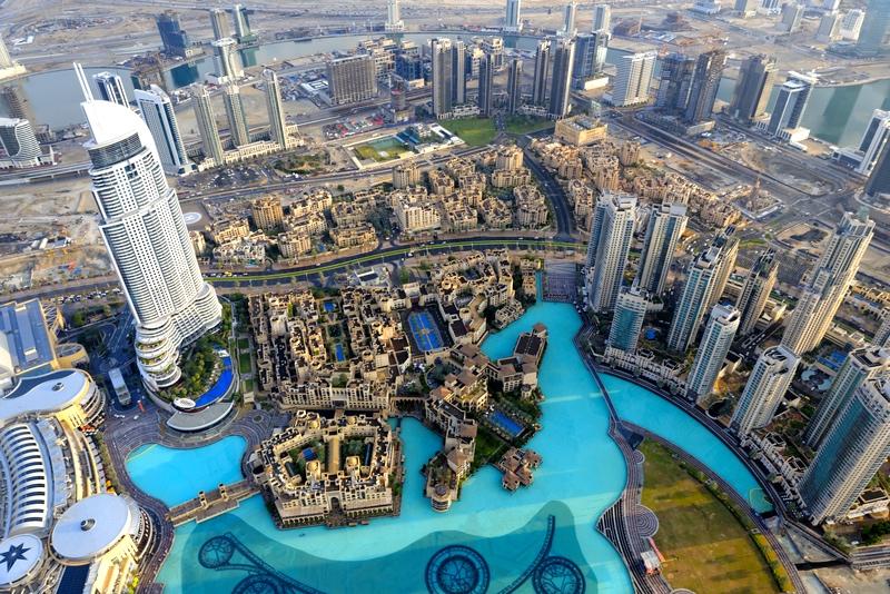 Rejsen til Dubai
